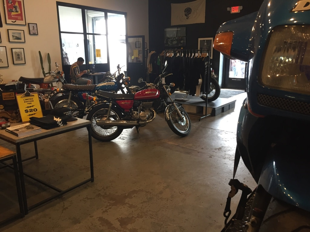 Brother Moto lobby view