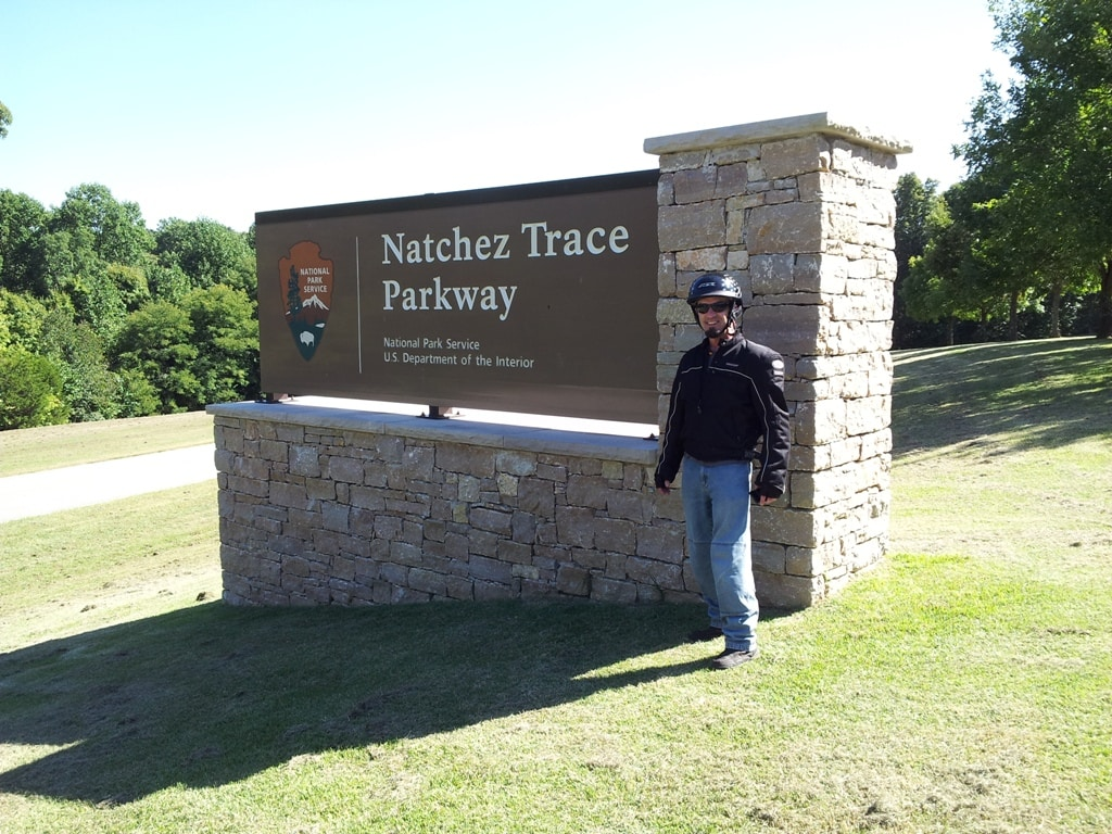 Natchez Trace north terminus
