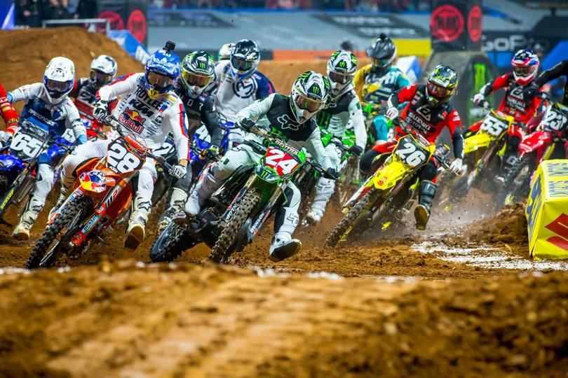 Supercross Atlanta – Bikes Soar Where Falcons Fly