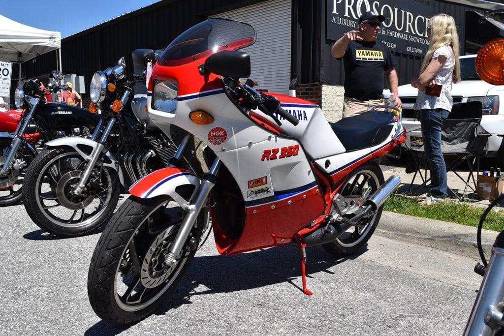 Yamaha vintage motorcycles
