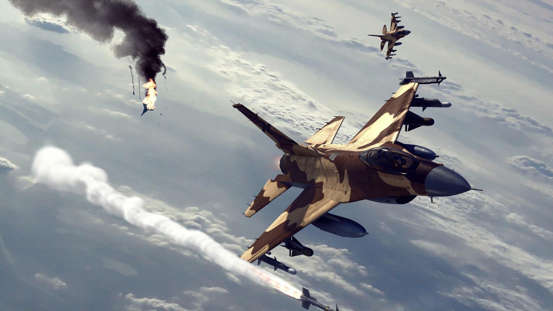 F 16 combat