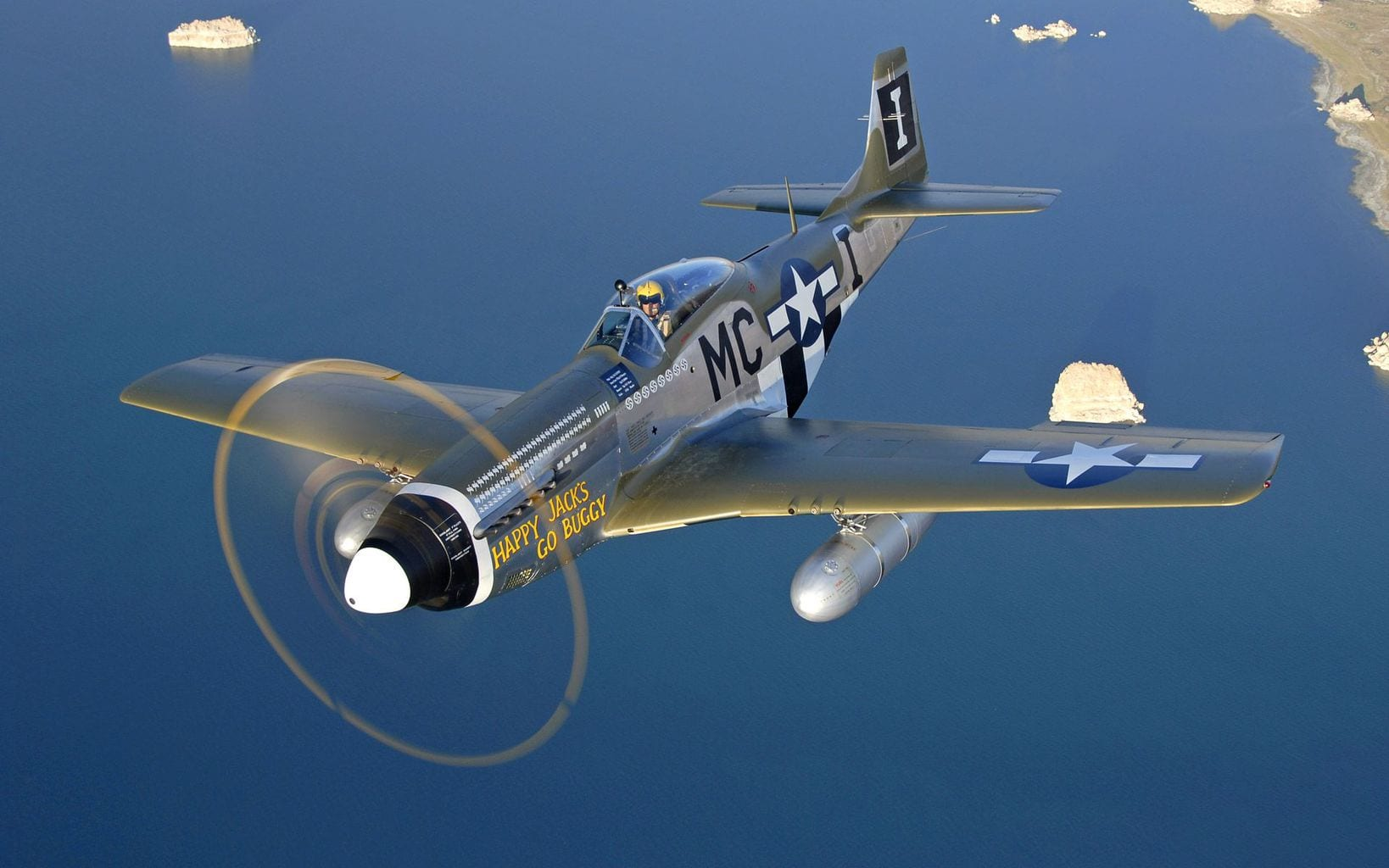 picture of P 51 Mustang