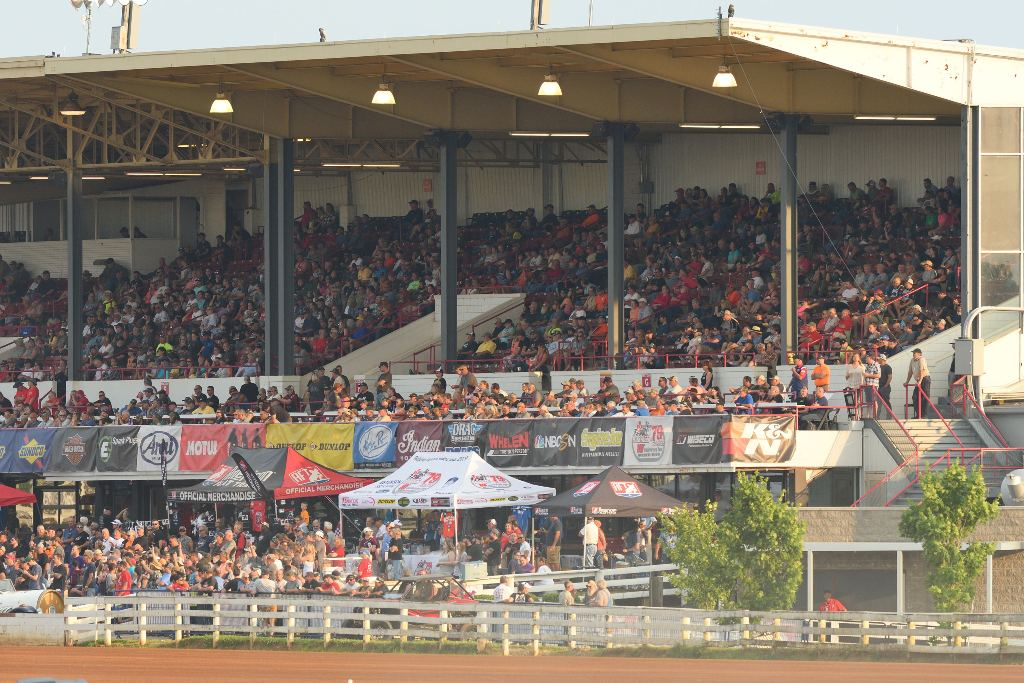 picture of Lexington Red Mile grandstands