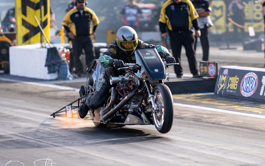 NHRA Top Fuel Harley