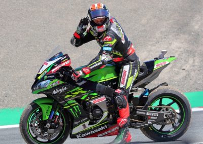 picture of Jonathan Rea victory celebration