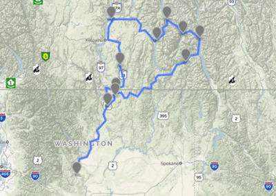 picture of Our route