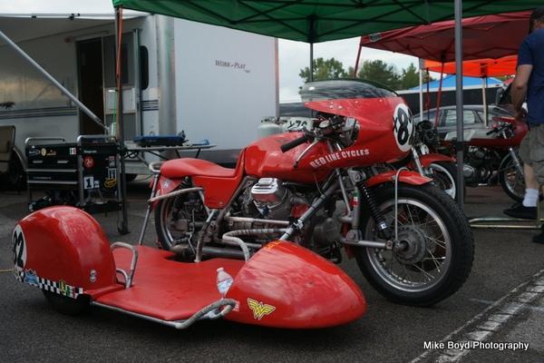 Moto Guzzi side car