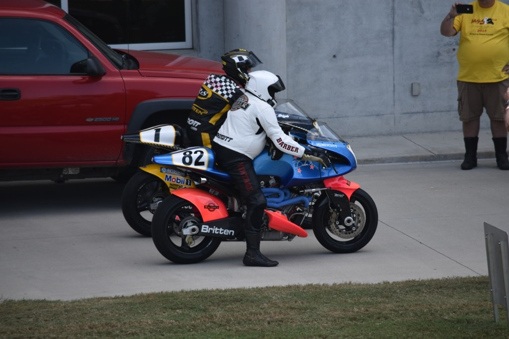 Britten motorcycles