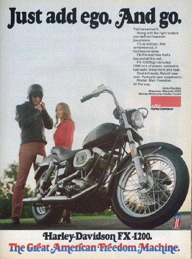 Harley-Davidson FX 1200 1973