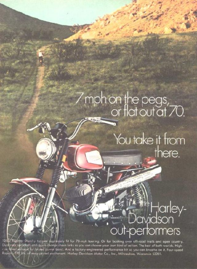 Harley-Davidson Rapido 1968