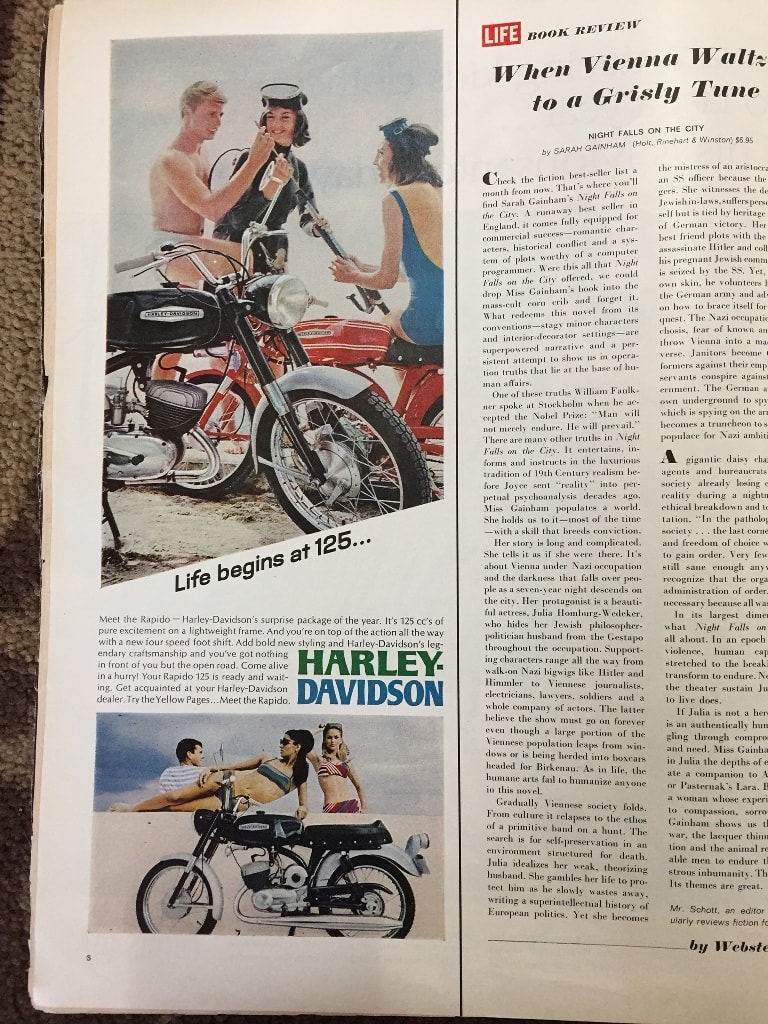 picture of Harley 1967