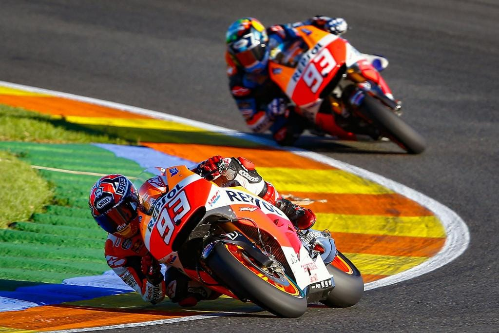 Marquez brothers on track 2