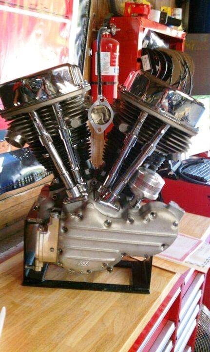 picture of 1948 H-D Panhead Stroker