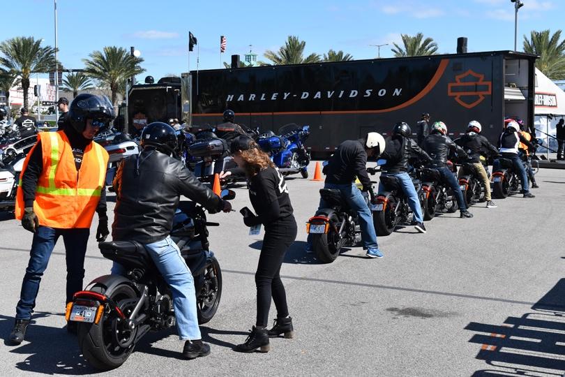 Harley Davidson LiveWire Daytona BikeWeek