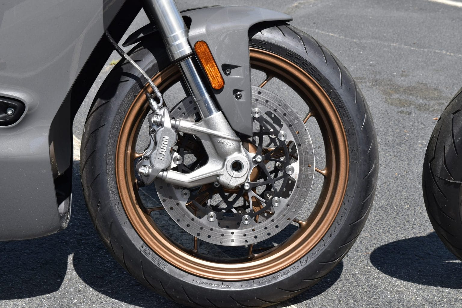 picture of Zero SR/S front brakes