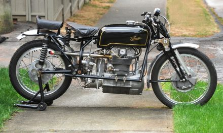 Legendary Bikes- The 1939 Velocette Roarer