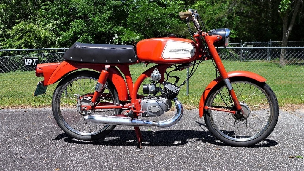 picture of Harley-Davidson/Aermacchi M-50s