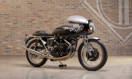 Legendary Bikes: 1968 Egli Vincent Black Shadow Recreation