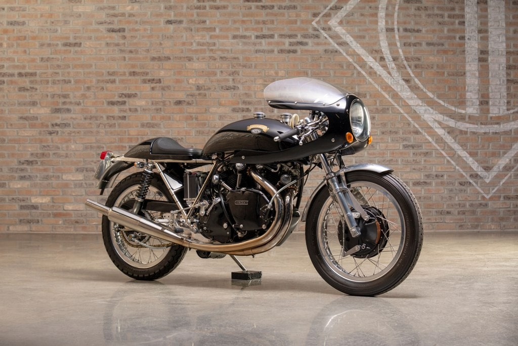picture of 1968 Egli Vincent Black Shadow recreation