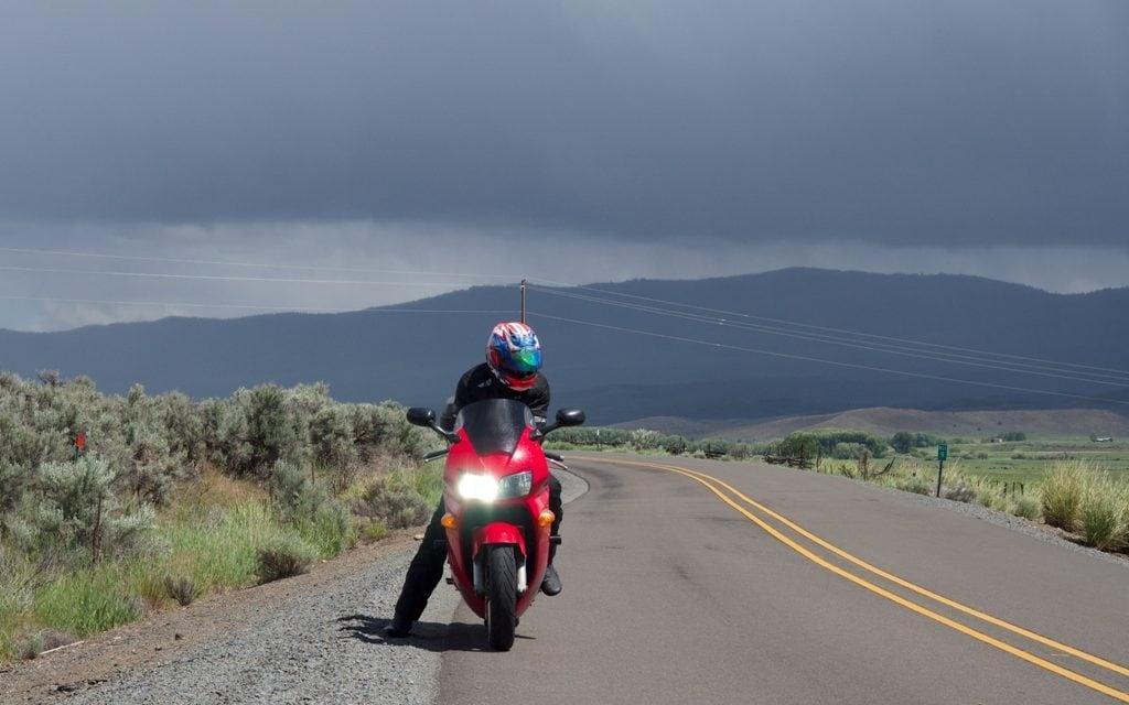 Riding Into The Wild, Wild Wet
