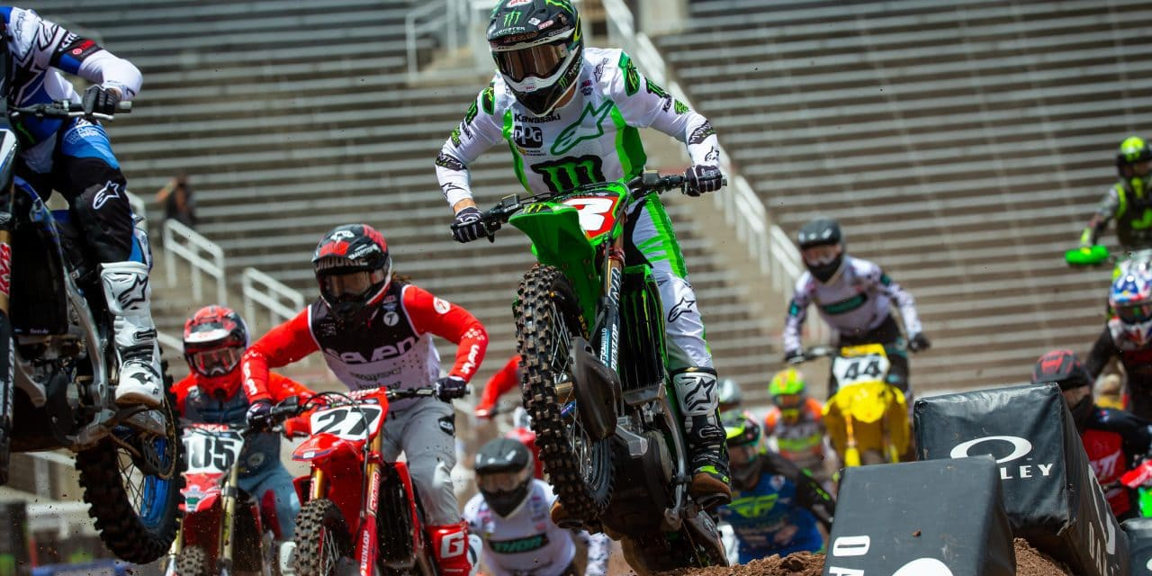 Tomac Takes Supercross Title