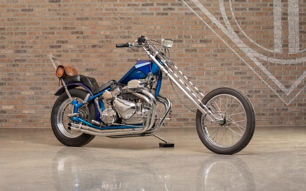 Legendary Bikes: 1958 Ariel Square Four Chopper