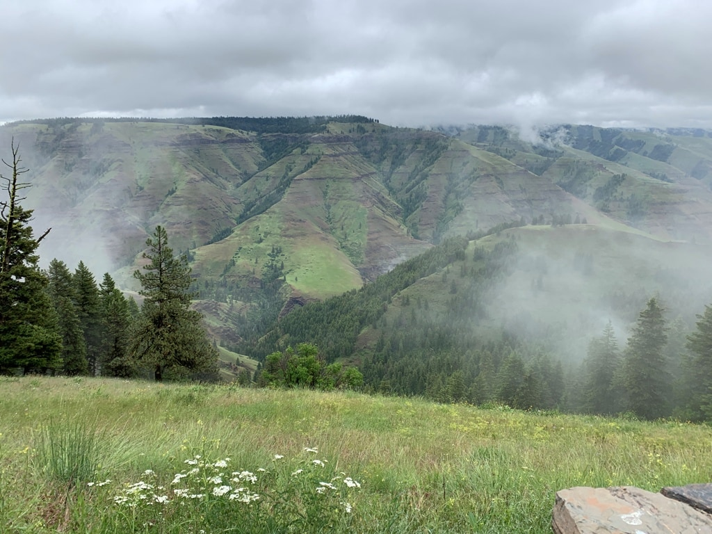 picture of Hells Canyon overlook