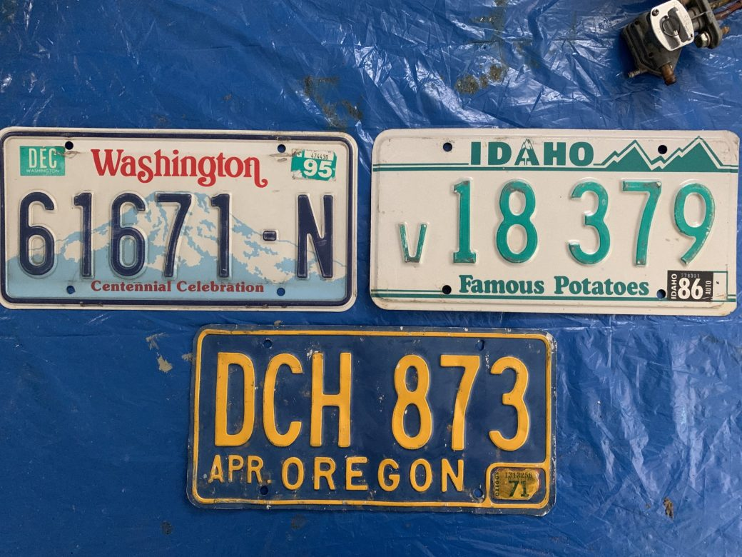 picture of state plates
