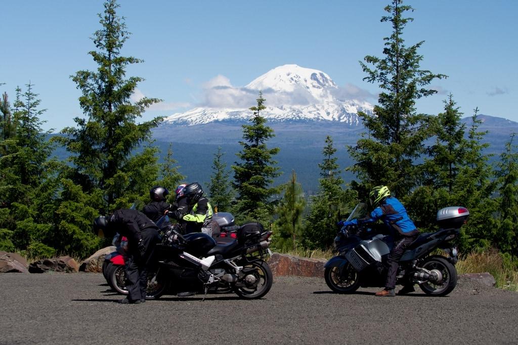 picture of Mt. Adams overlook