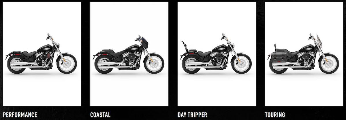 picture of Softail variations