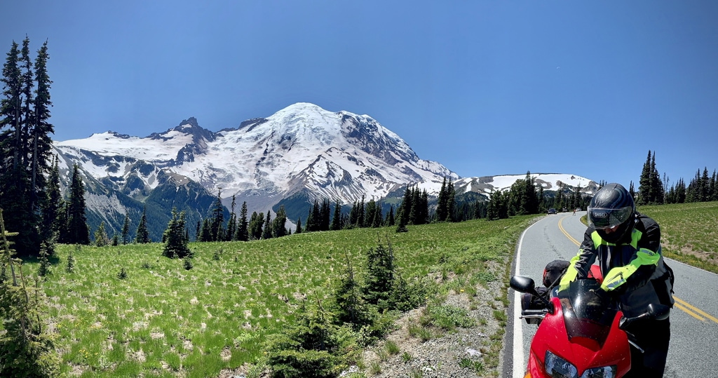 picture of Dave and Rainier