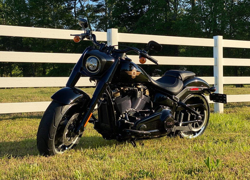 Image of Harley Davidson 30th Anniversary Fat Boy