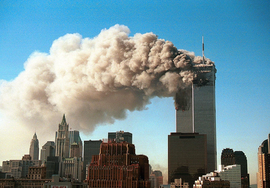 picture of Trade Center Towers 1