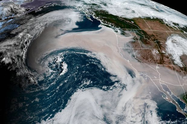 picture of west wildfires