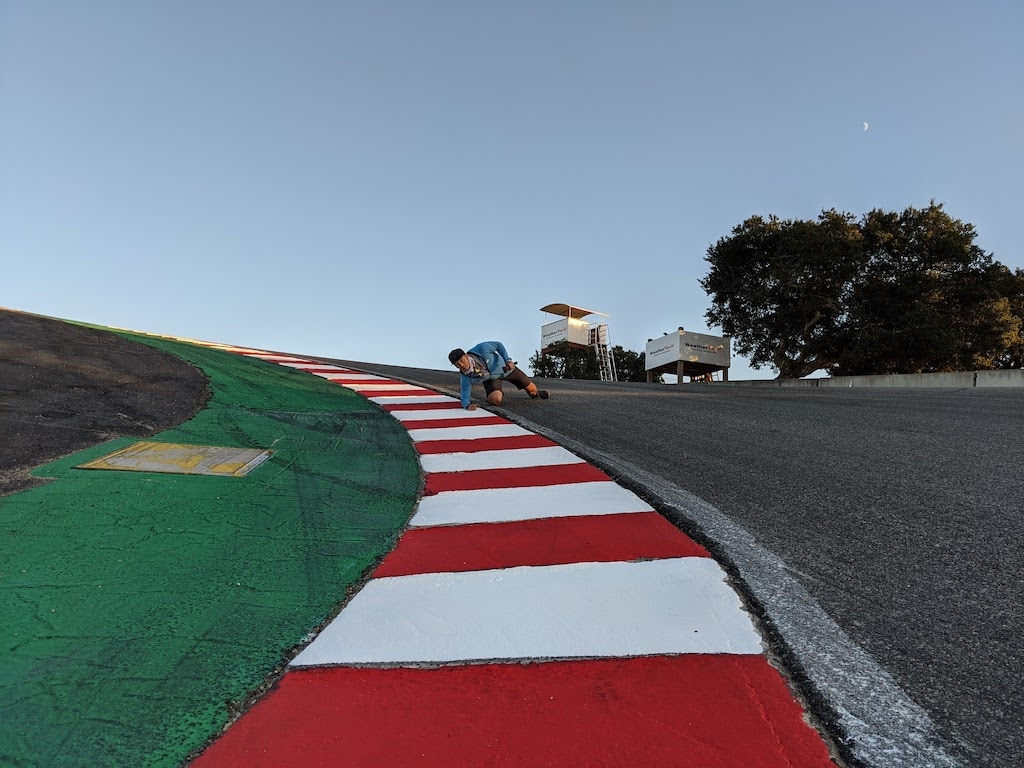 picture of Corkscrew, Laguna Seca