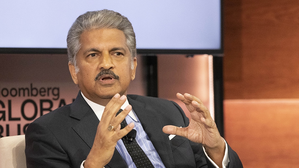 picture of Anand Mahindra
