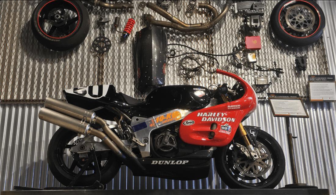 Legendary Bikes: Harley's VR1000 and V-Rod Destroyer