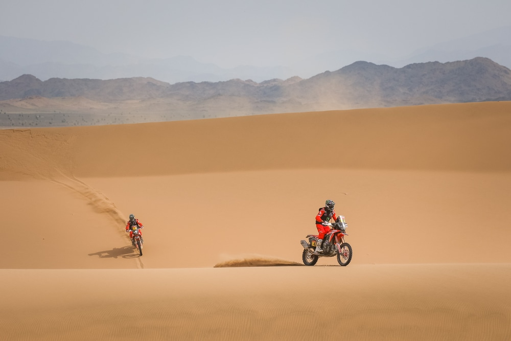 picture of Benavides Brabec Dakar