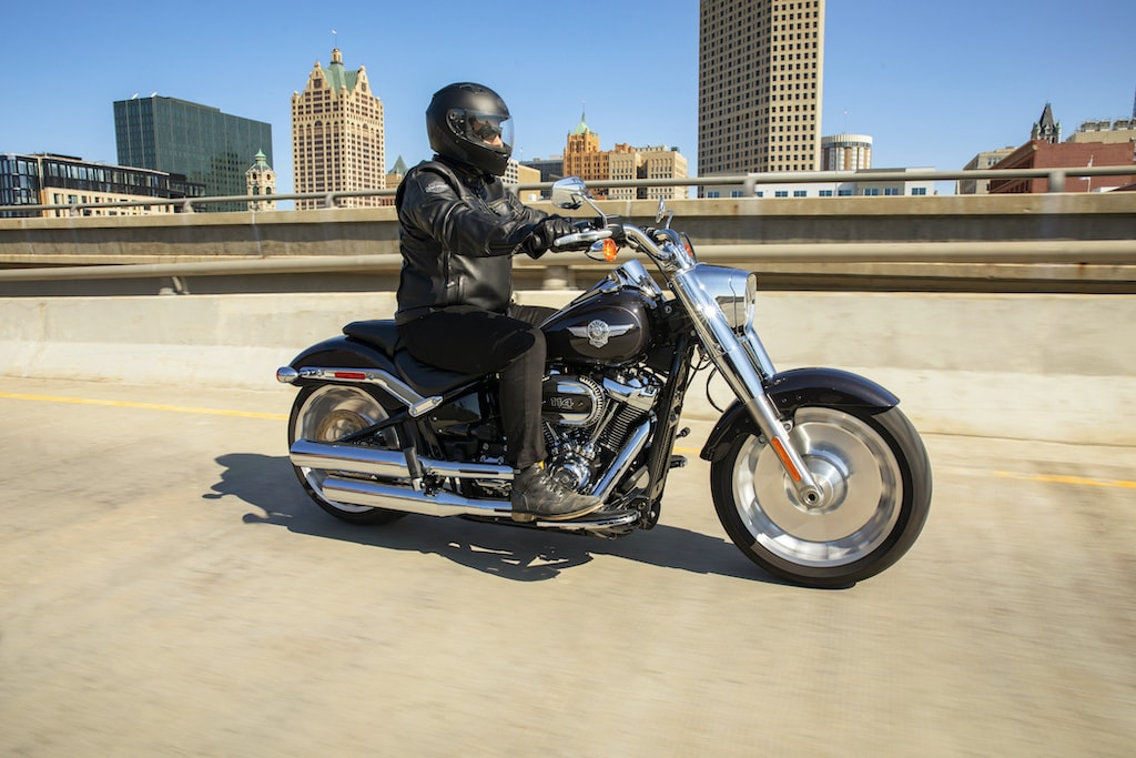 picture of Harley Davidson Fat Boy 114