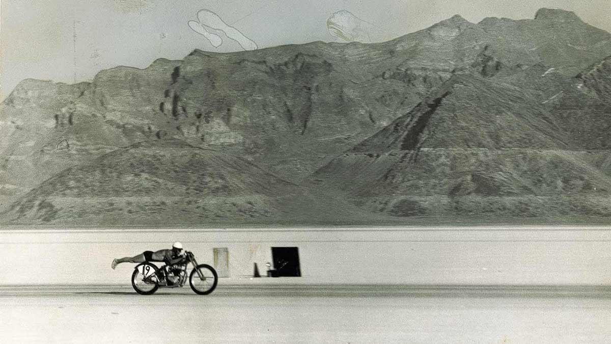 picture of Jack Dale Triumph 1954