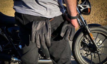 SA1NT Motowear Unbreakable Pants and Gloves