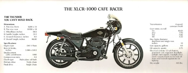 picture of xlcr 1000 spec