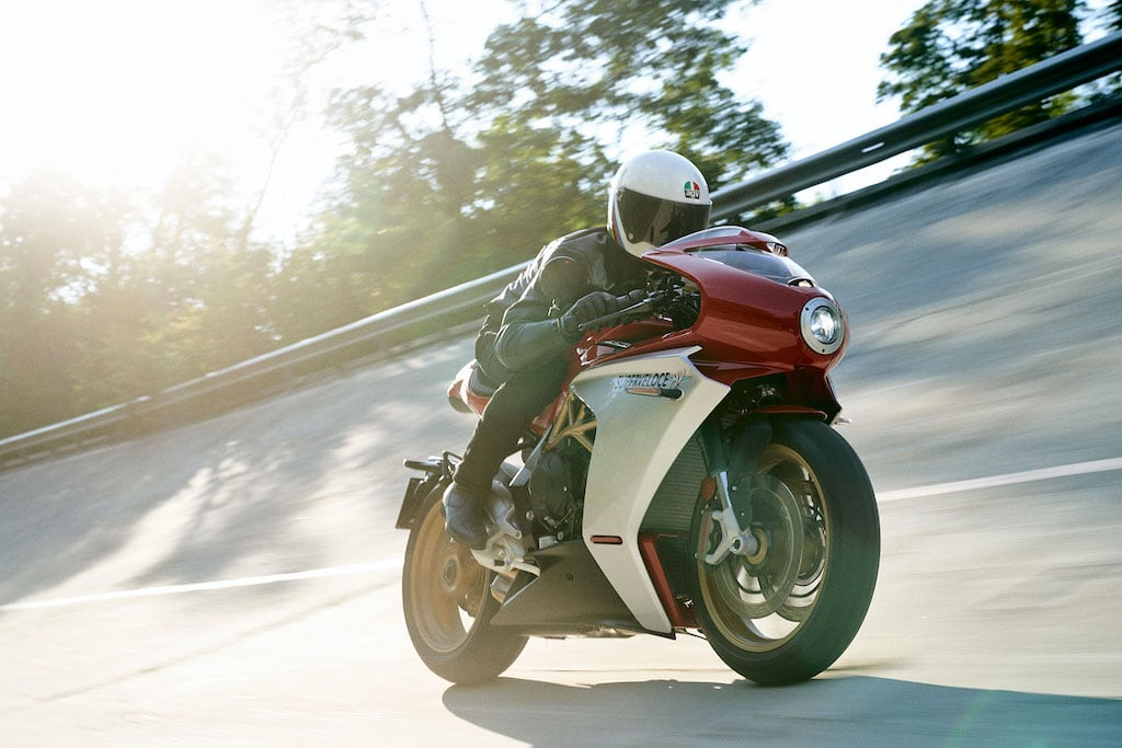 picture of MV Agusta SV Ago red