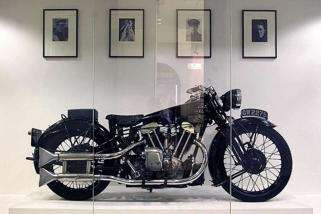 picture of Brough Superior display