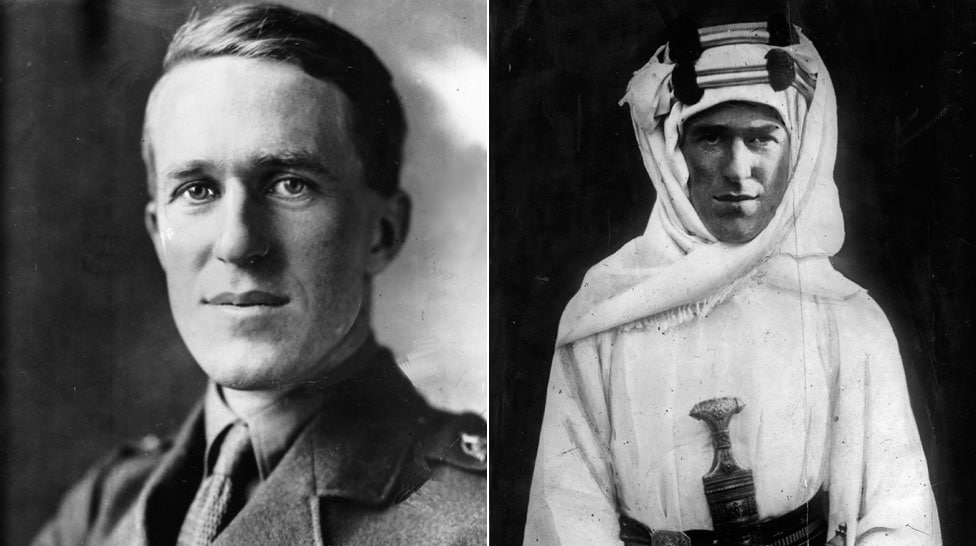 picture of Col TE Lawrence