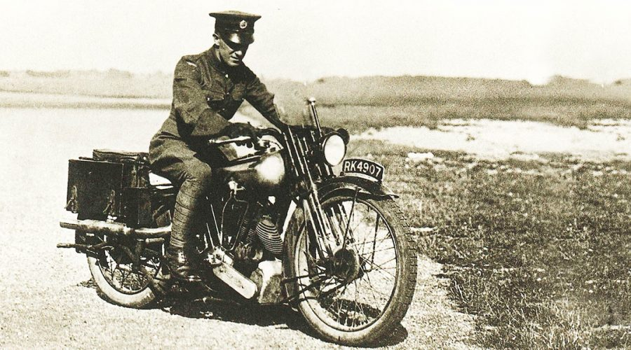 Lawrence of Arabia and the Motorcycle Helmet