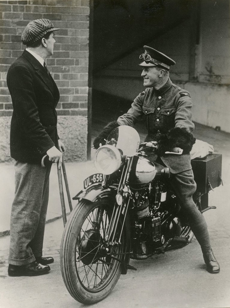 picture of Lawrence and Brough