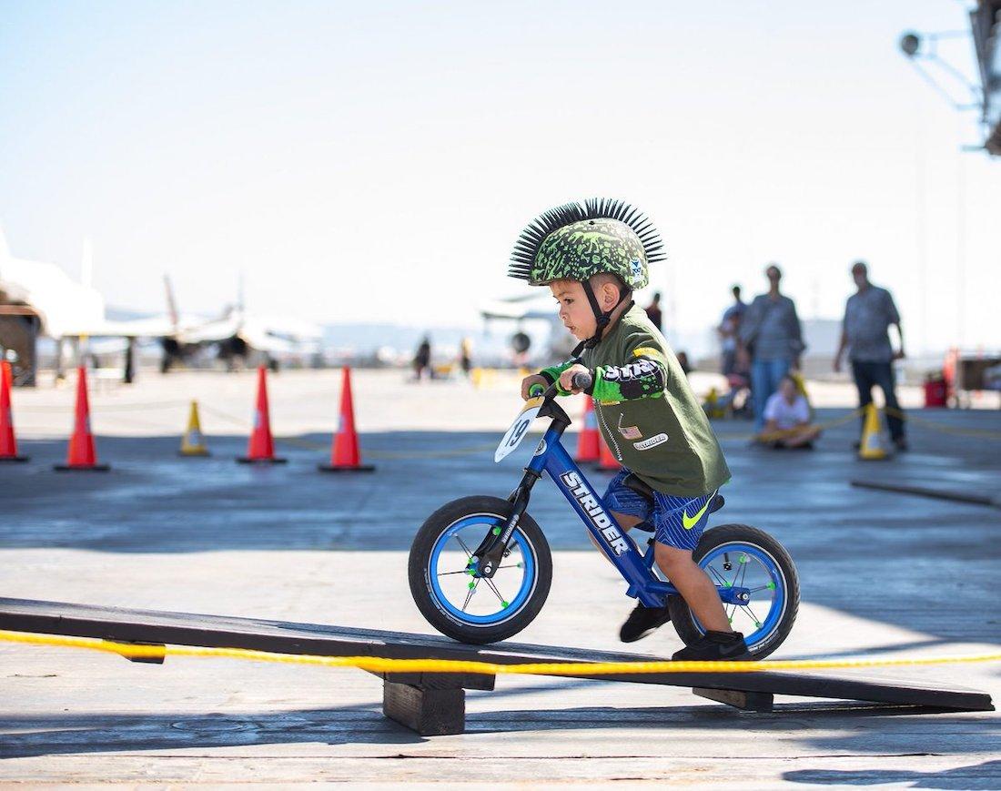 picture of Strider rider