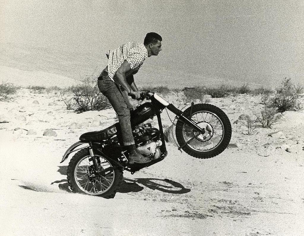 picture of Bud Ekins Triumph