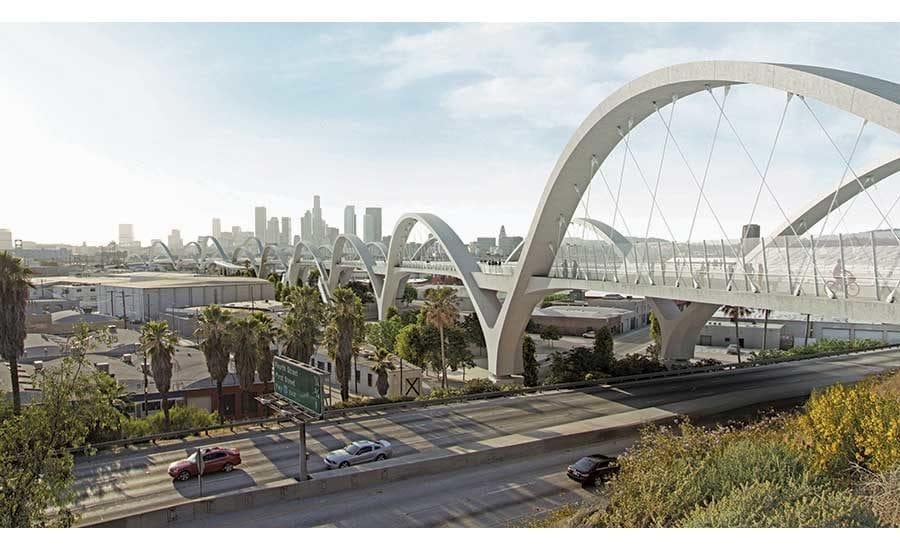 picture of New 6th Street Bridge Rendering